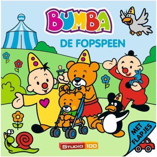 Boek Bumba Flapjes Fopspeen (BOEK340663)