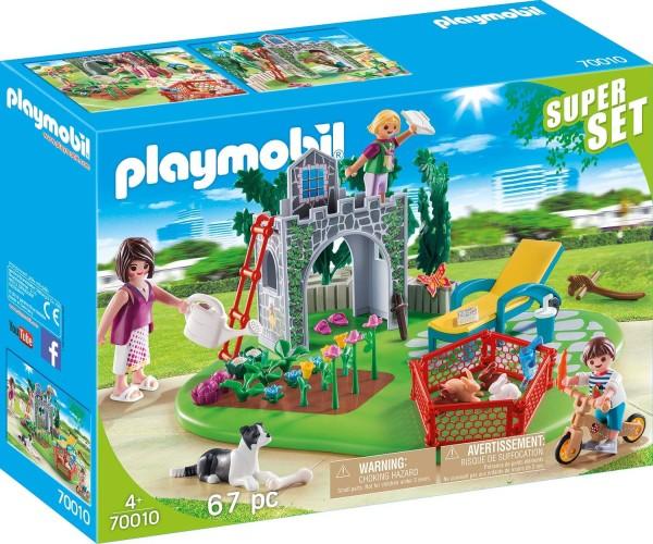 SuperSet Familietuin Playmobil (70010)