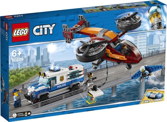 Luchtpolitie diamantroof Lego (60209)