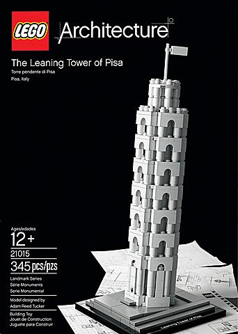 Lego Architecture De Toren van Pisa Lego 21015