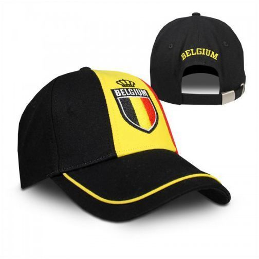 Cap Belgium Zwart Geel Rood Belgie