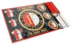 Stickervel Feyenoord Shirt