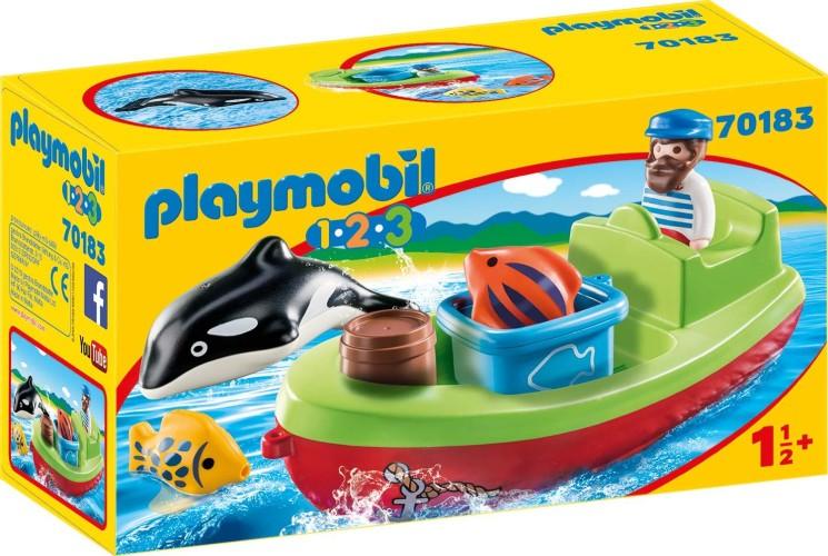 Vissersboot Playmobil (70183)