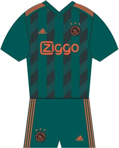 Minikit Ajax Away 2019/2020