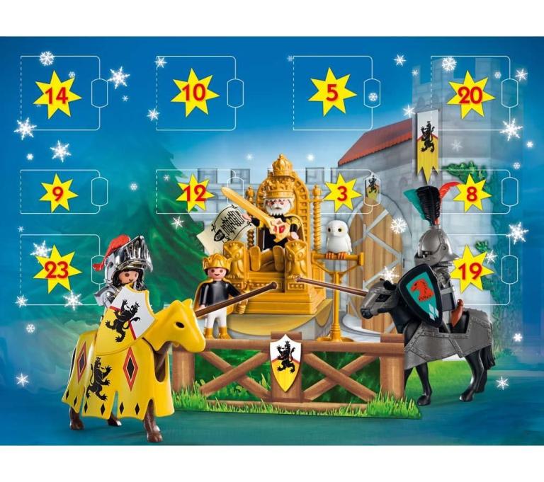 Adventkalender Riddertoernooi Playmobil 4163