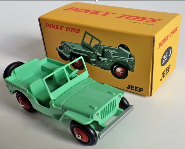 Jeep WILLYS (I:43) DINKY TOYS (DINKY28)