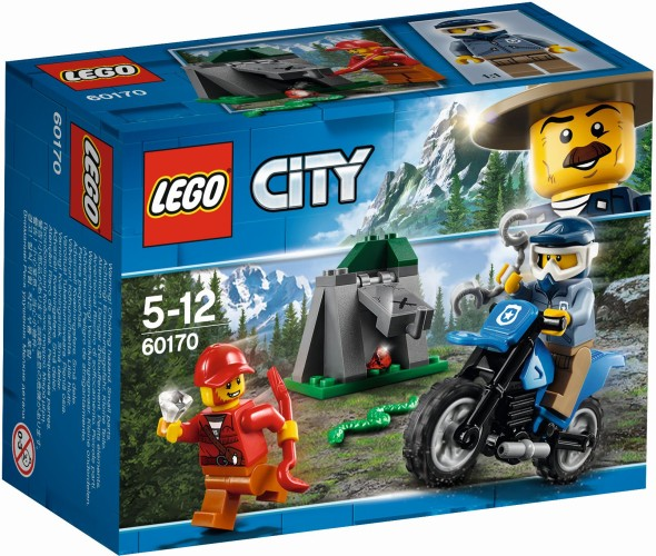 Off-road Achtervolging Lego (60170)