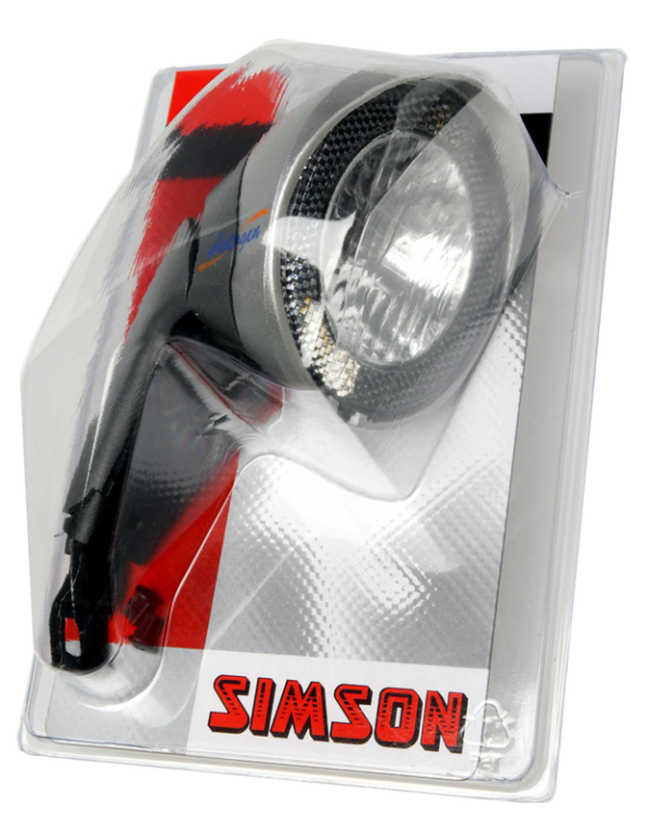 Simson koplamp Horizon hallogeen