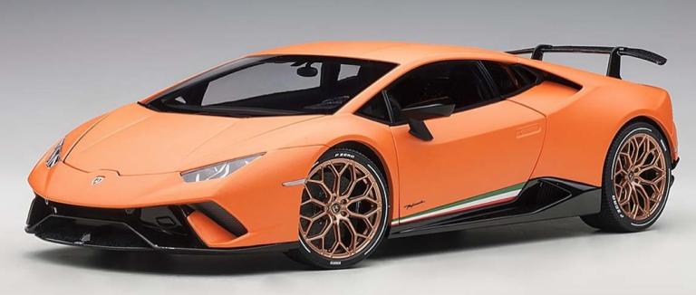 Lamborghini HURACAN PERFORMANTE 2017 (ORANJE) AUTOART (1:18)