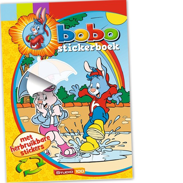 Stickerboek Bobo