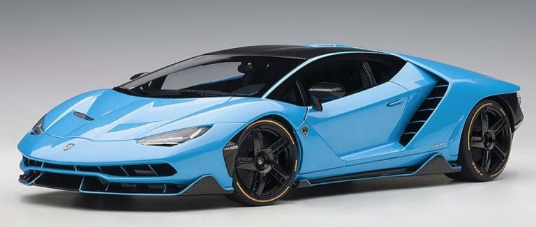 Lamborghini CENTENARIO 2018 (BLAUW) AUTOART (1:18)