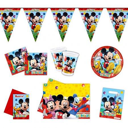 Feestpakket Mickey Mouse 54-delig
