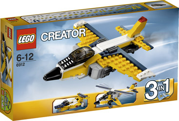 Creator 3 in 1 Super Straaljager Lego 6912