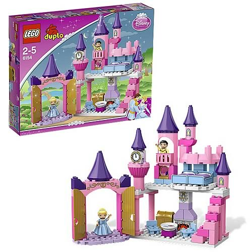 Assepoester Kasteel Lego 6154 Disney