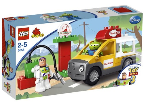 Lego 5658 Toy Story 3 Pizza Planet Vrachtwagen