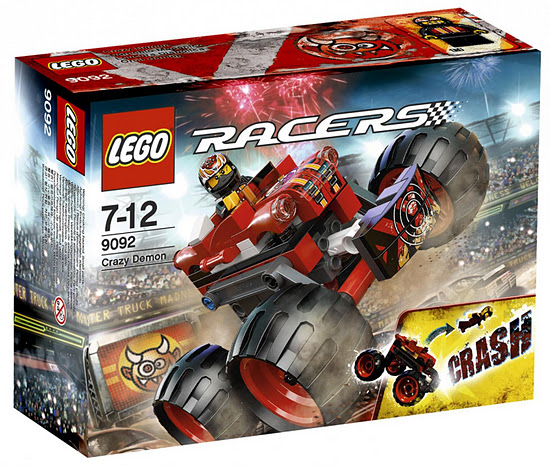 Lego 9092 Racer Crazy Demon
