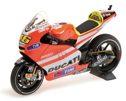 Ducati DESMOSEDICI GP 11.1 46 VALENTINO ROSSI MOTOGP 2011 (MINICHAMPS1:12)