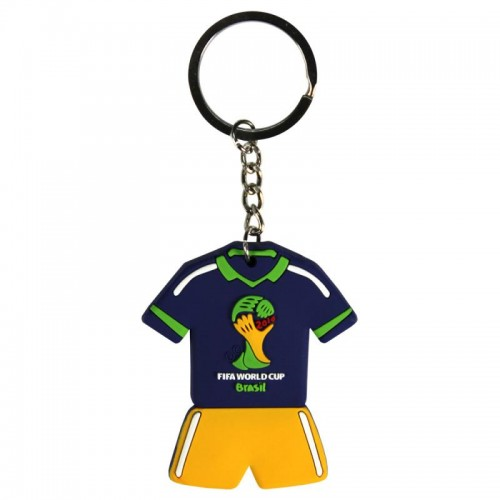 Sleutelhanger Shirt Logo Fifa WK Brazilië