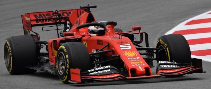 Ferrari SF90 SCUDERIA FERRARI #5 SEBASTIAN VETTEL AUSTRALIAN GP 2019 (1:18)