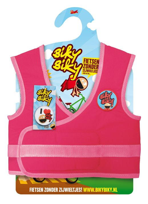 VEST KIND BIKYBIKY GIRLS ROZE