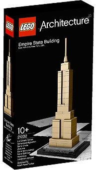 Architecture Empire State Building Lego 21002