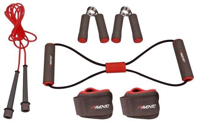 Avento Fitness Set 6-delig Avento Rood/Roze