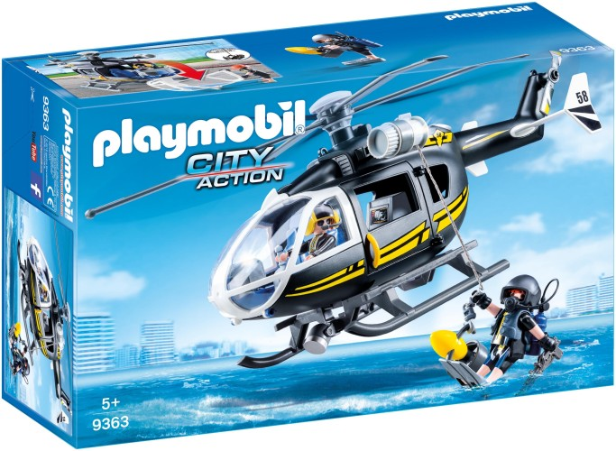 SIE-Helikopter Playmobil (9363)