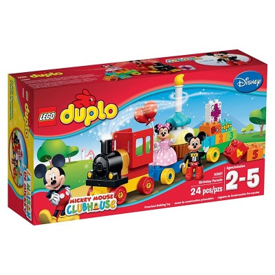 Mickey en Minnie Verjaardagsoptocht Lego Duplo (10597)