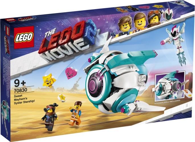 Lieve Chaos Systar ruimteschip Lego (70830)