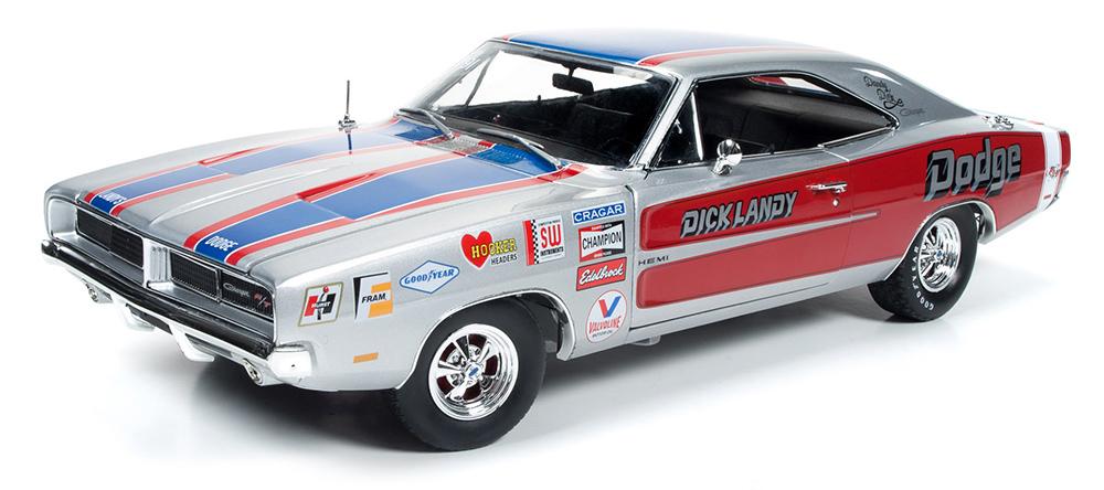 DODGE CHARGER R/T DICK LANDY 1969 (1:18) AUTOWORLD