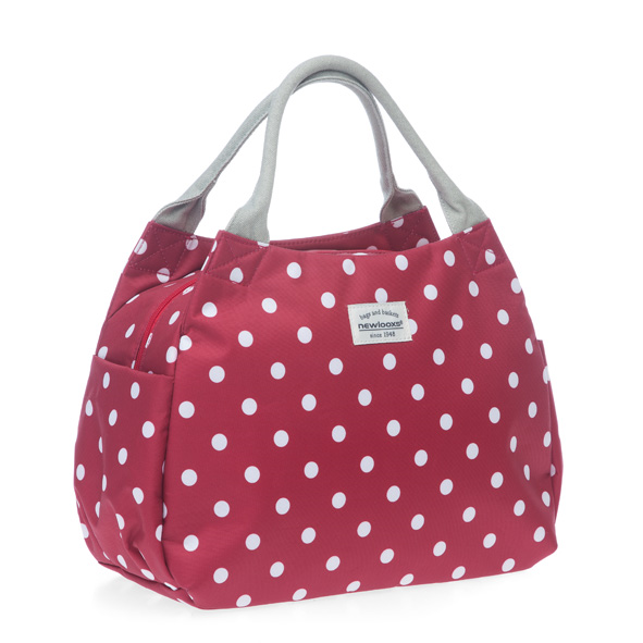 TAS NEW LOOXS TOSCA MIDI POLKA RED