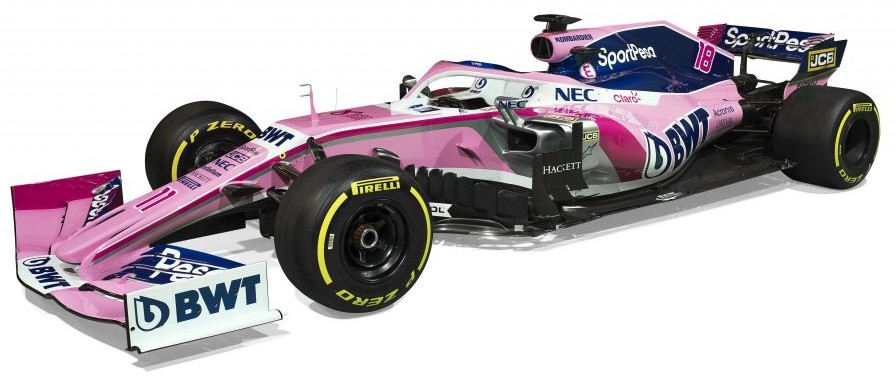 SPORTPESA RACING POINT F1 TEAM MERCEDES RP19 #18 LANCE STROLL 2019 MINICHAMPS (1:43)