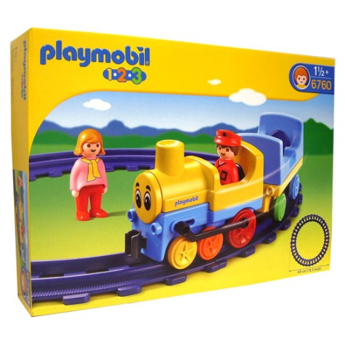1.2.3 Trein 6760 Rails Playmobil