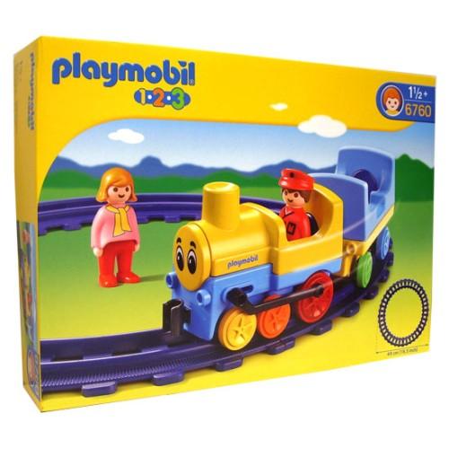 1.2.3 Trein 6760 Rails Playmobil