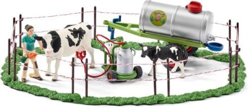Koeienfamilie op de weide Schleich (41428)