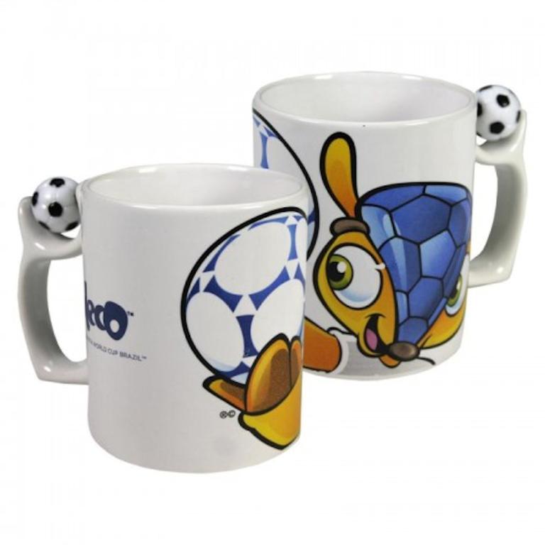 Mok Mascotte Fifa WK Brazilie Logo