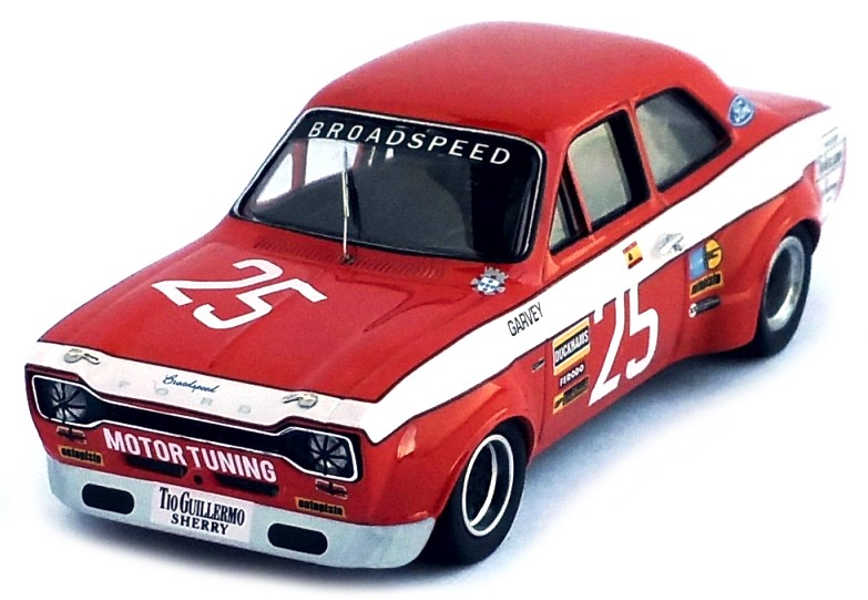 Ford ESCORT MKI 25 RAFAEL BARRIOS VILA REAL 1973 TROFEU (1:43)