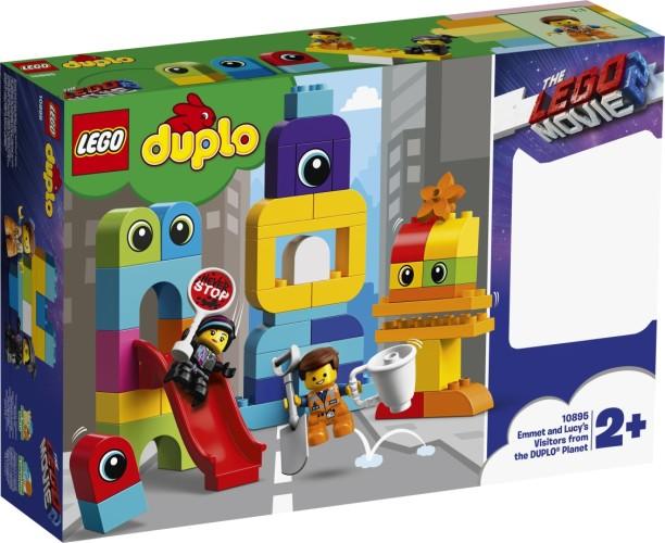 Visite voor Emmet en Lucy Lego Duplo (10895)