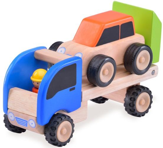Voertuig Wonderworld Tractor 10x18x14 cm (WW-4042)