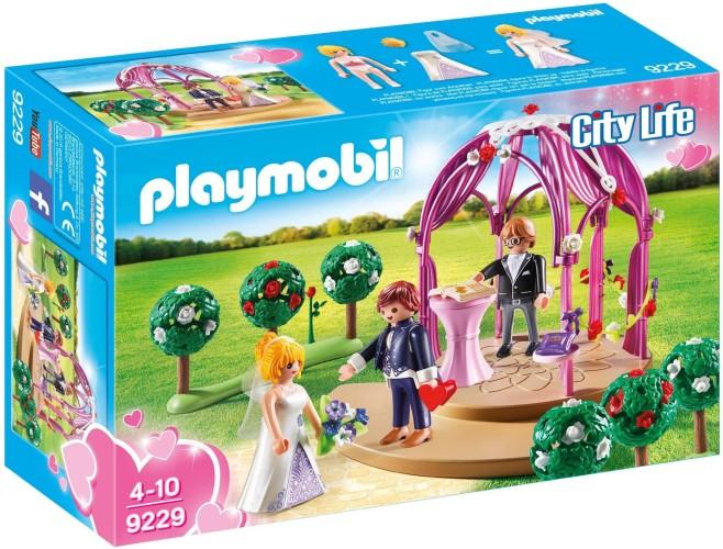 Bruidspaviljoen met Bruidspaar Playmobil (9229)