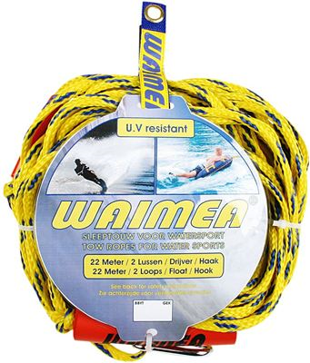 Sleeptouw voor Watersport Yellow