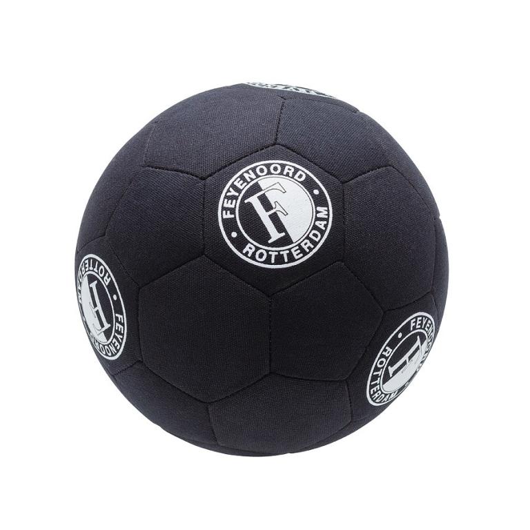 Feyenoord Bal Canvas Zwart Straatbal