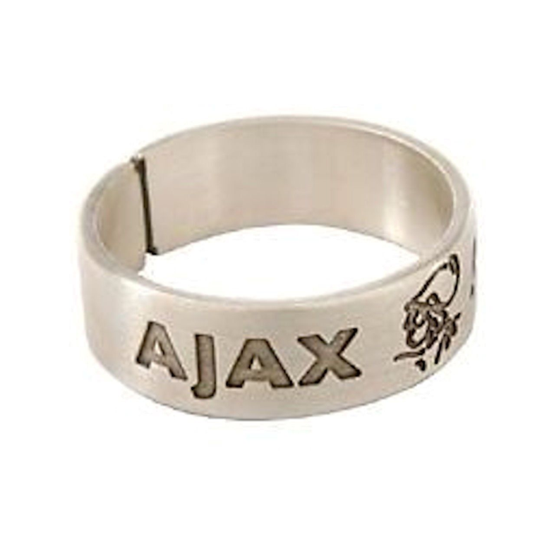 Ajax Ring Ajax Zilver Band 20 mm