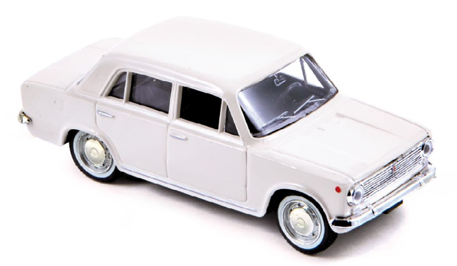 FIAT 124 1966 WIT NOREV (1:43)