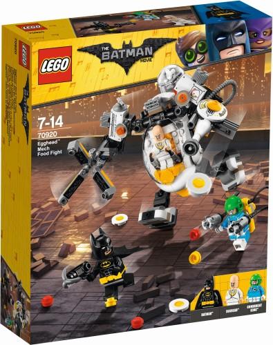 Egghead Mecha Voedselgevecht Lego (70920)