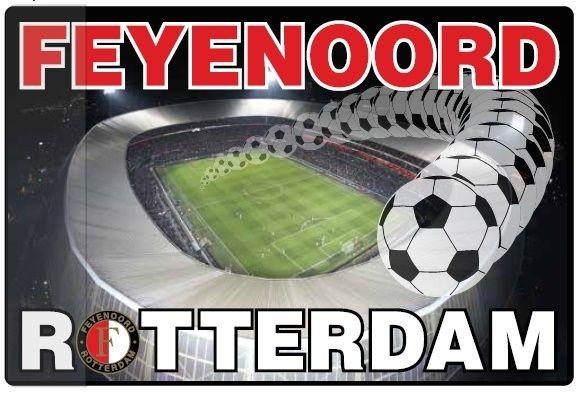 Feyenoord Bureaulegger Feyenoord Onderlegger Stadion