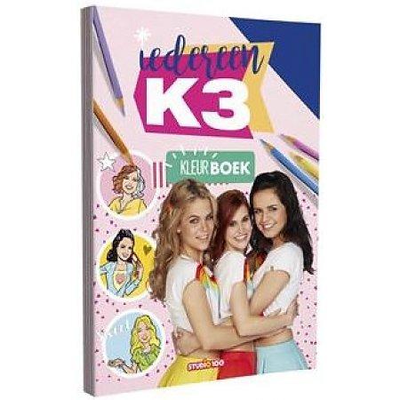 Kleurboek K3 (6%) (BOK3N0000170)