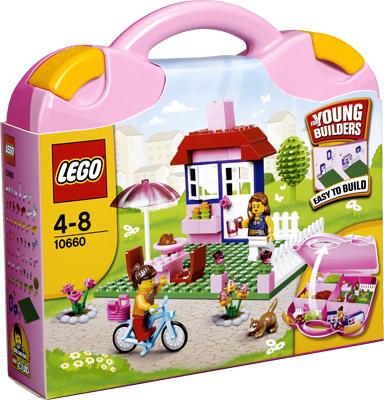 Lego10660 Roze Koffer