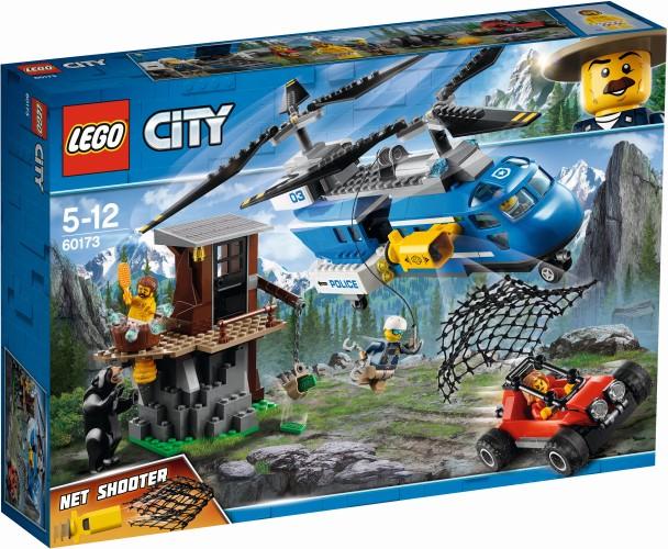 Bergarrestatie Lego (60173)