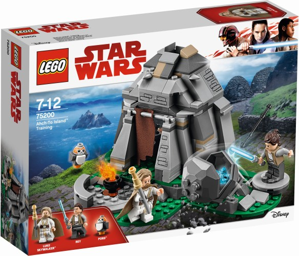 Ahch-To Island training Lego (75200)